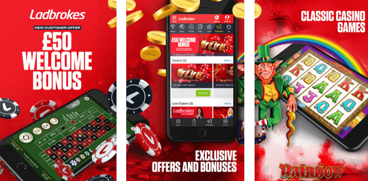 Ladbrokes Mobile App and Sites