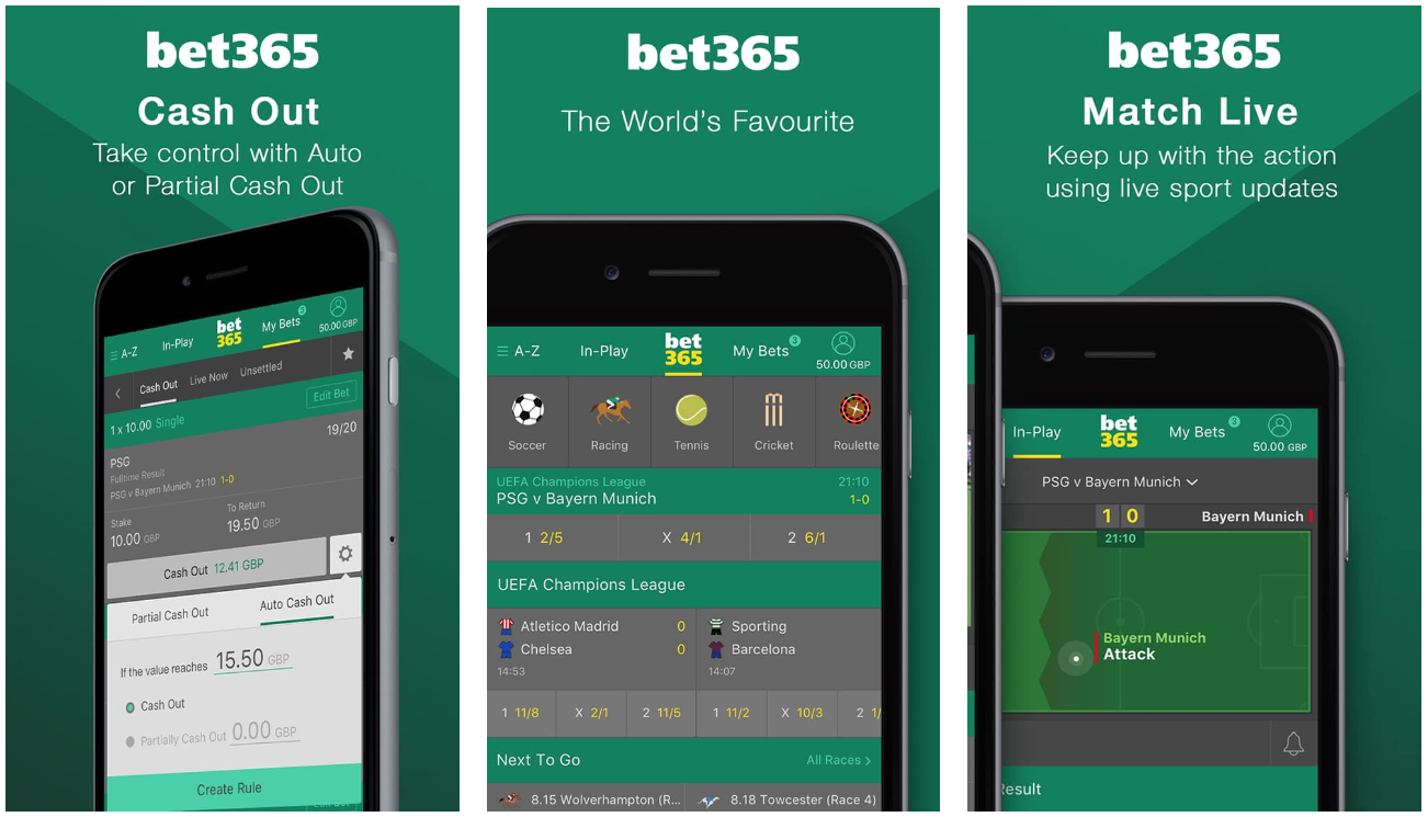 Bet365 Bonus Code - 365APP for UK Players