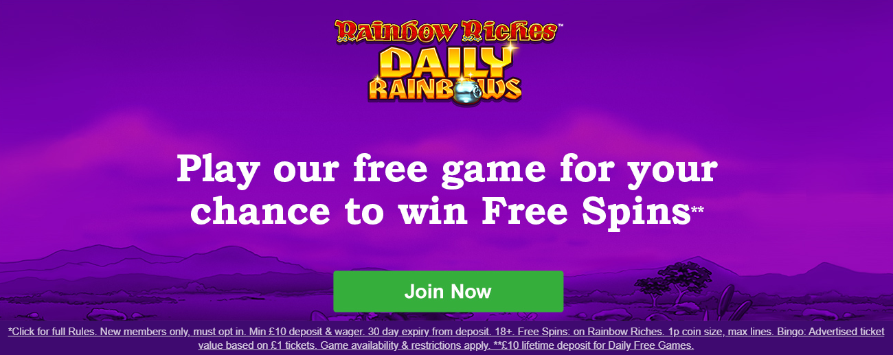 Rainbow Riches Promo Codes 2020