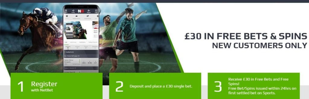 netbet sports welcome offer and bonus code