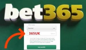 bet365 bonus code 365UK