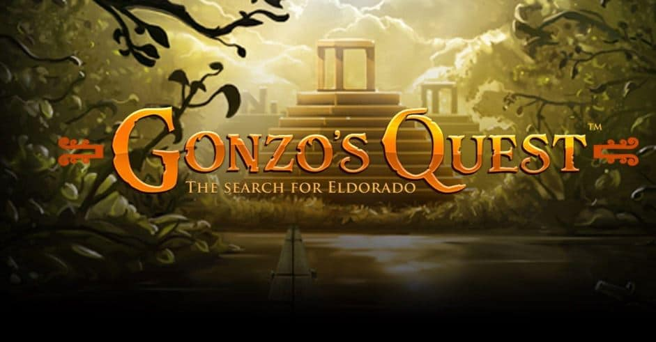 Gonzo's quest slots game at Rainbow Riches Casino