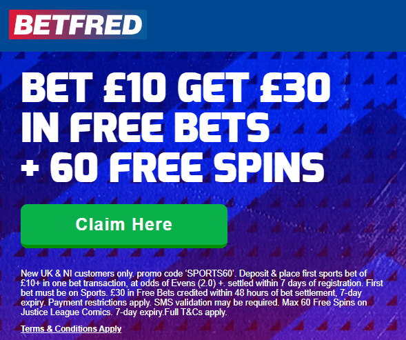 betfred sports offer